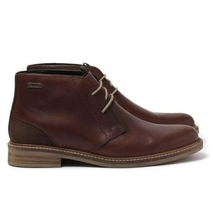Barbour leather boots